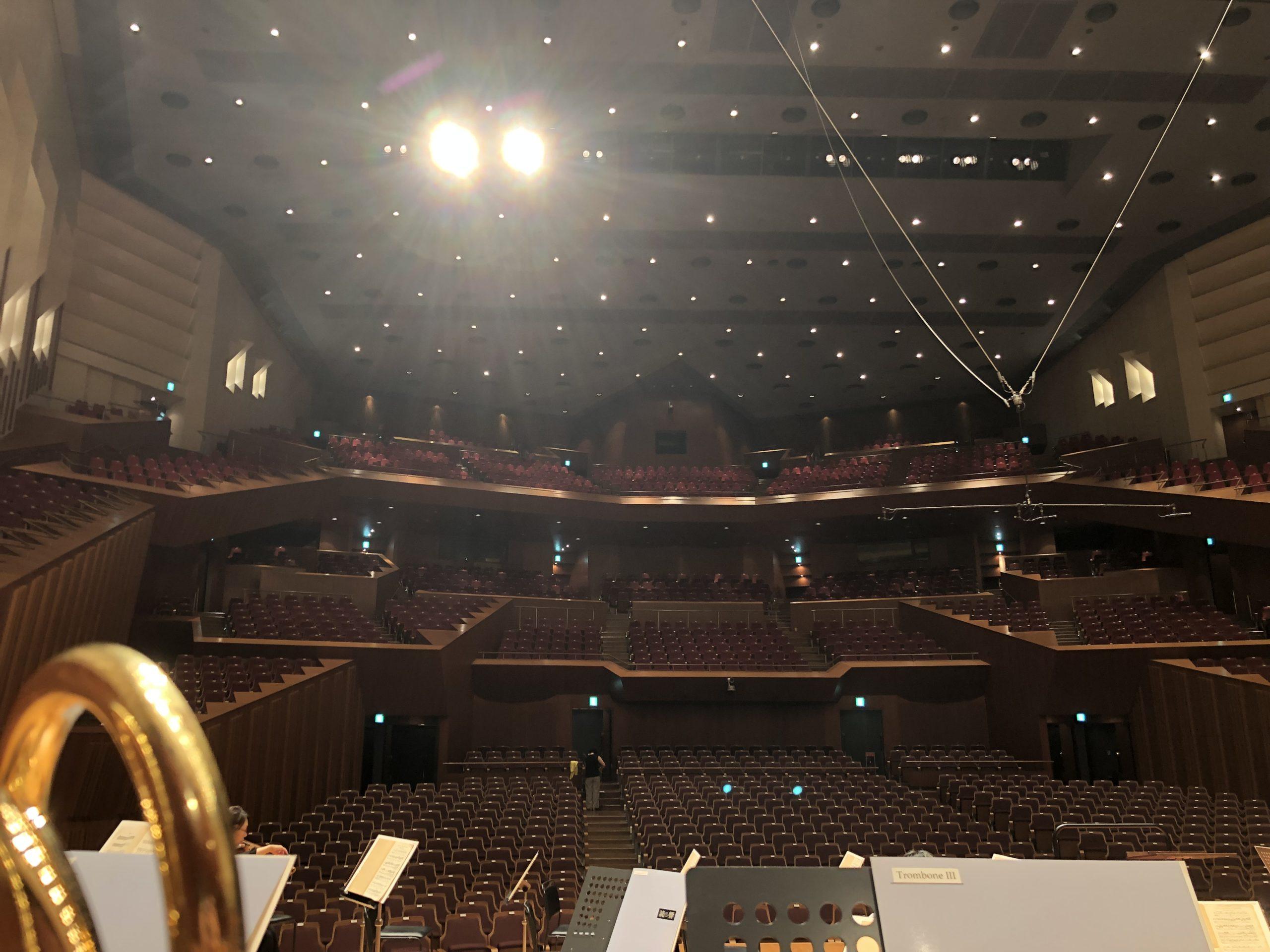 東京芸術劇場で